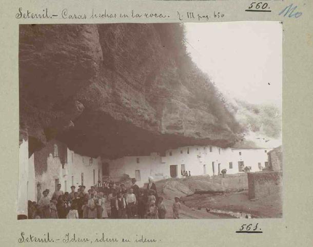 Cuevas del Sol, 1907. Publicada en el Catálogo de los Monumentos Históricos de la Provincia de Cádiz. Foto: ENRIQUE ROMERO DE TORRES