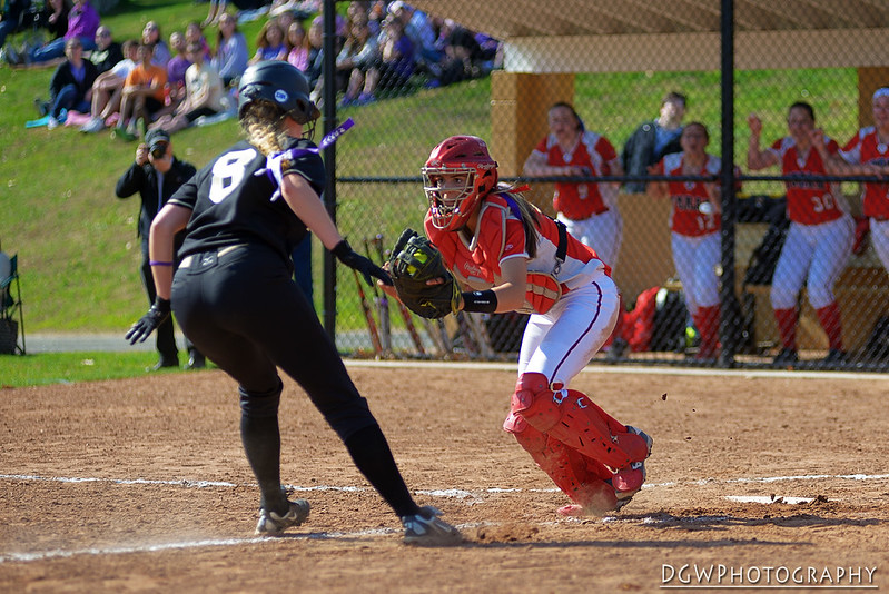 Foran High vs. Jonathan Law Girls Softball