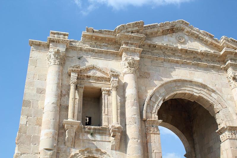 Jerash Arc d'Hadrien