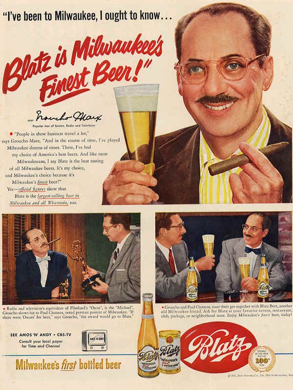1951-Blatz-is-Milwaukees-Finest-Beer-Groucho-Marx