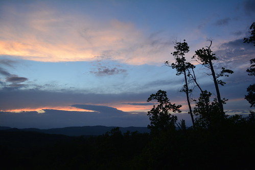 sunset mountain mountains northcarolina appalachianmountains morganton grandviewpeaks