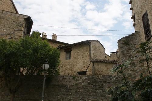 Bevagna: paesaggio urbano medievali