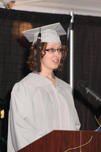 Commencement Speaker Katherine Gengler