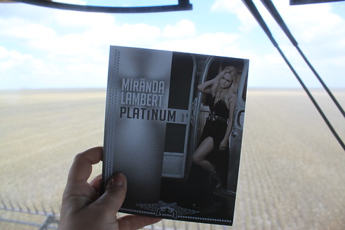 Today's harvest, brought to you by Miranda Lambert.