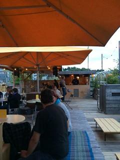 Hinterhof patio