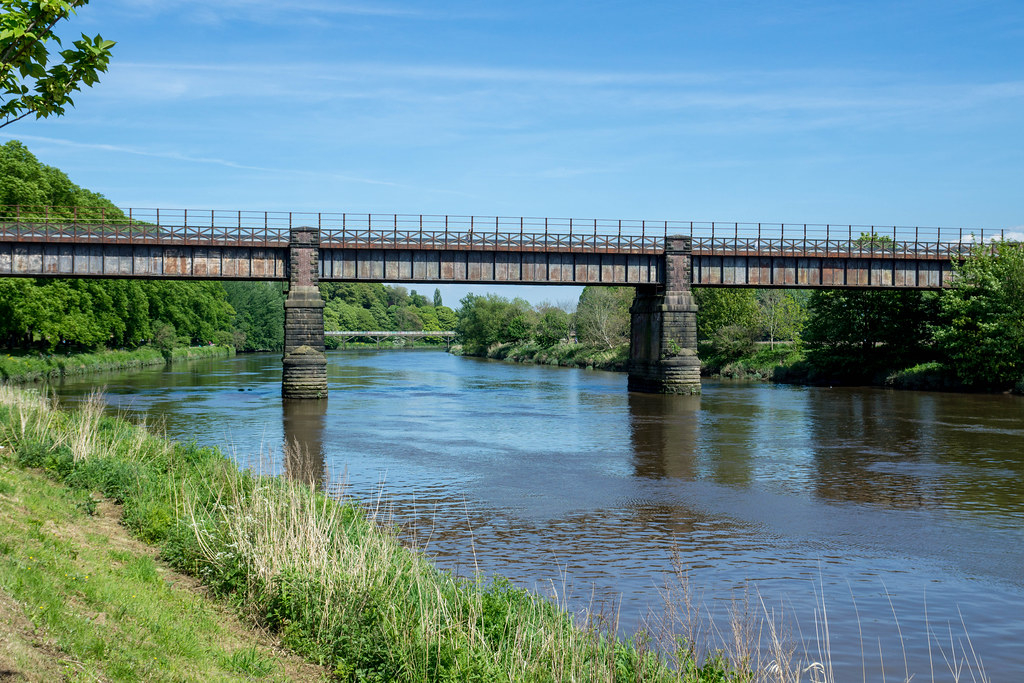 The former East Lancs railway bridge by Shabbagaz