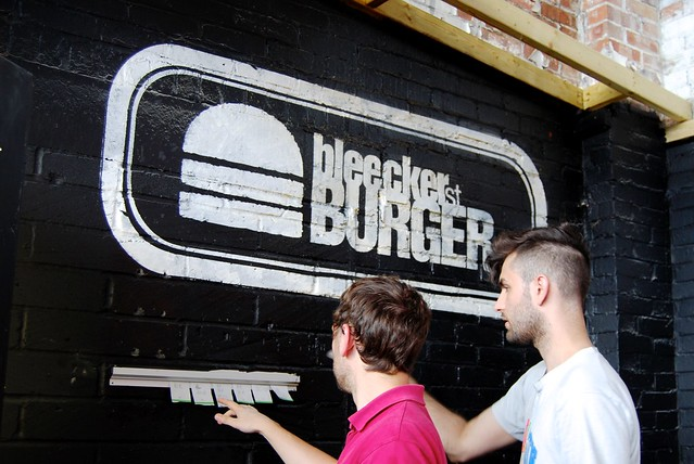 Bleeker St. Burger Street Feast London