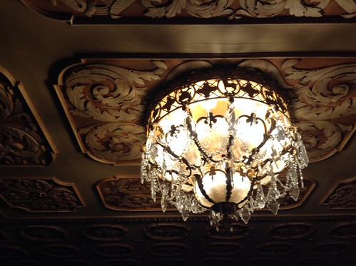 Chandelier at the Paramount