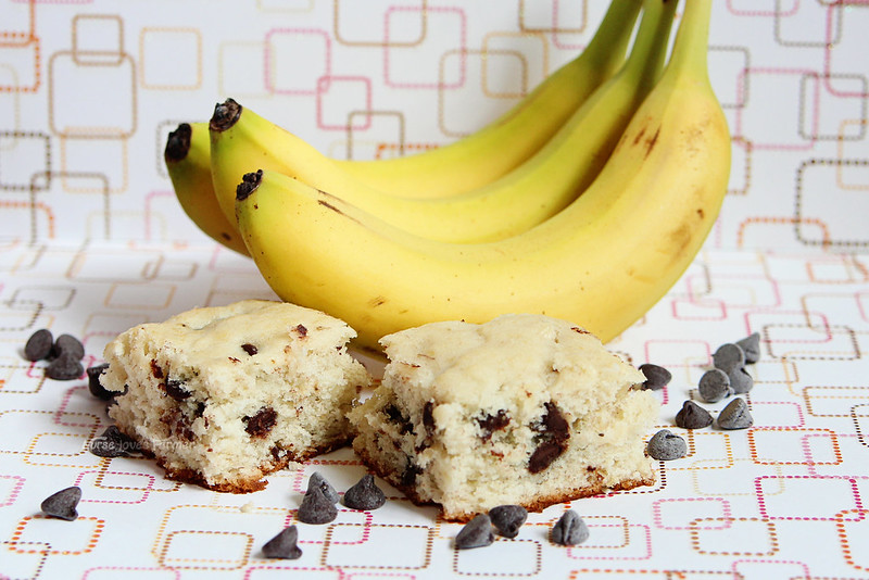 Monkey Bars (Banana Chocolate Chip Cake)