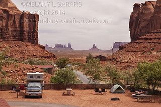 View of Monument Valley From Gouldings
