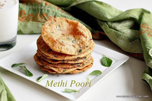 methi-poori