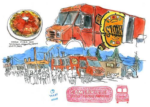 Food truck festivals of New England