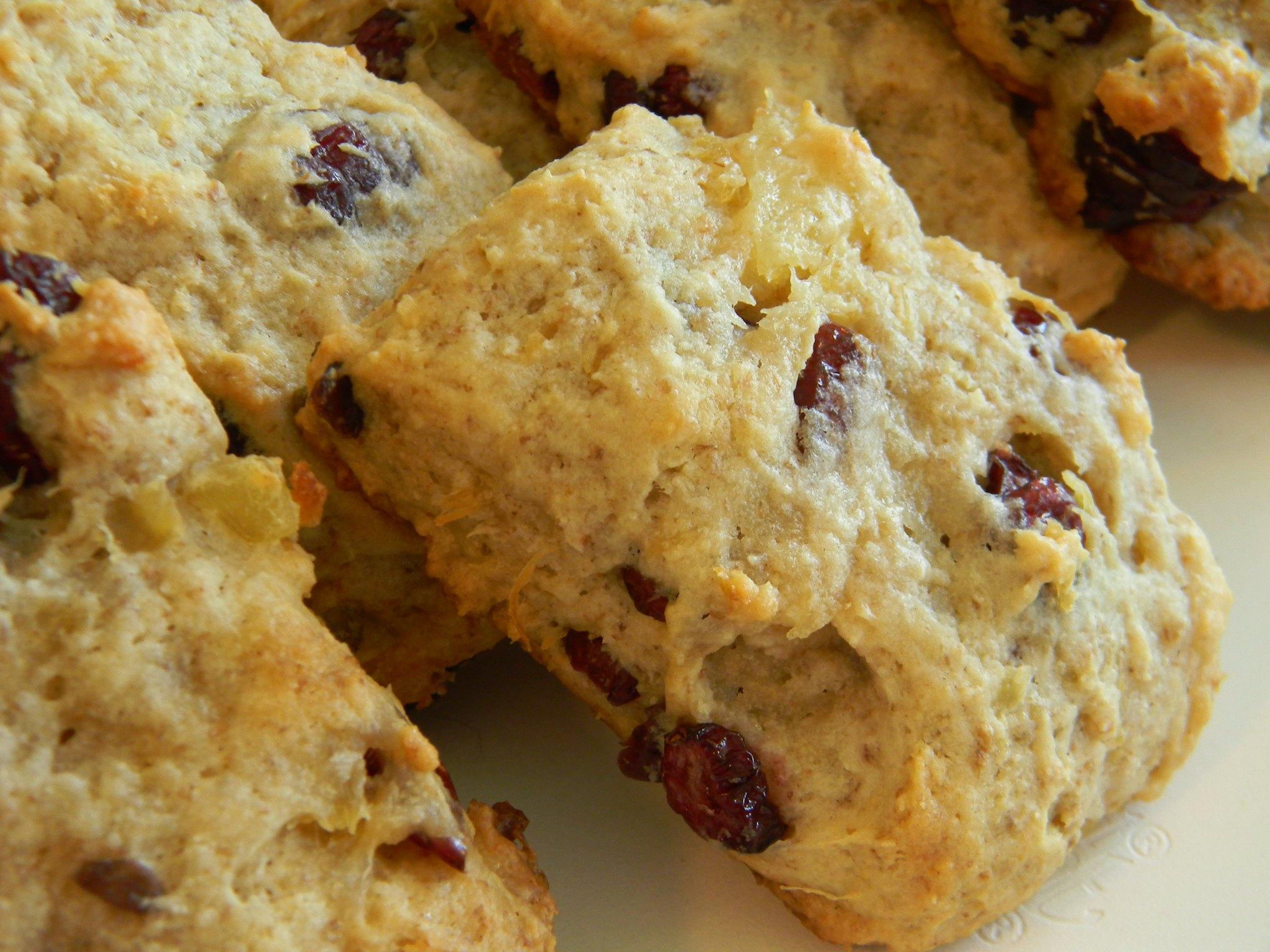 Cranberry Pineapple Drop Cookies