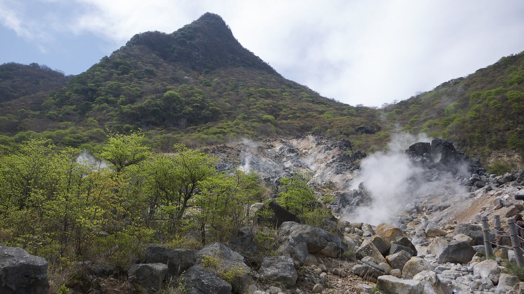 Owakudani Sulphur Vents