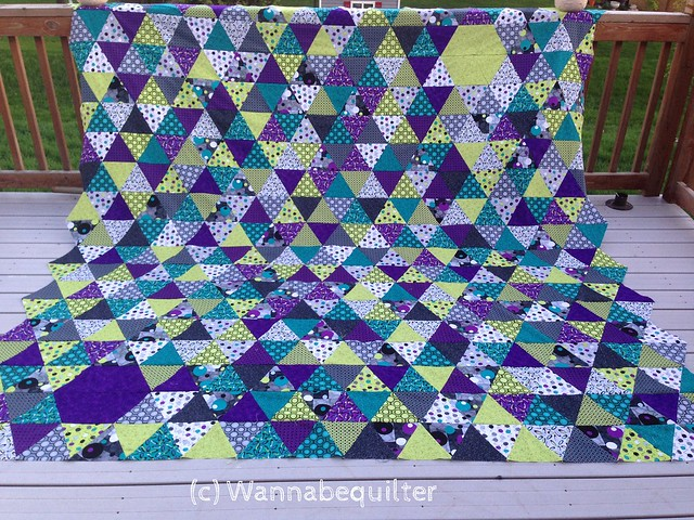 Triangle Quilt Along.