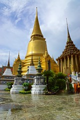 On the grounds of the Grand Palace in Bangkok, Thailand