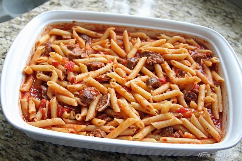 Italian Sausage Penne Pasta