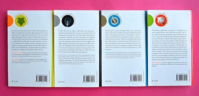 Città della scienza; vol. 1, 2, 3, 4. Carocci editore 2014. Progetto Grafico di Falcinelli & Co. Quarte di copertine: vol. 2, 3, 1, 4 (part.) 1