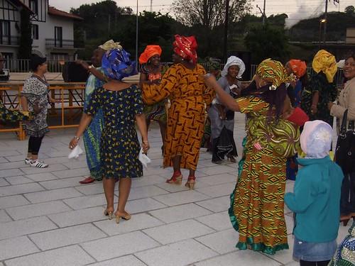 Festa afrikarra Zizurkilen