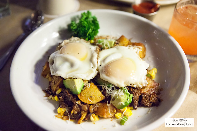 Bison Shortrib Hash
