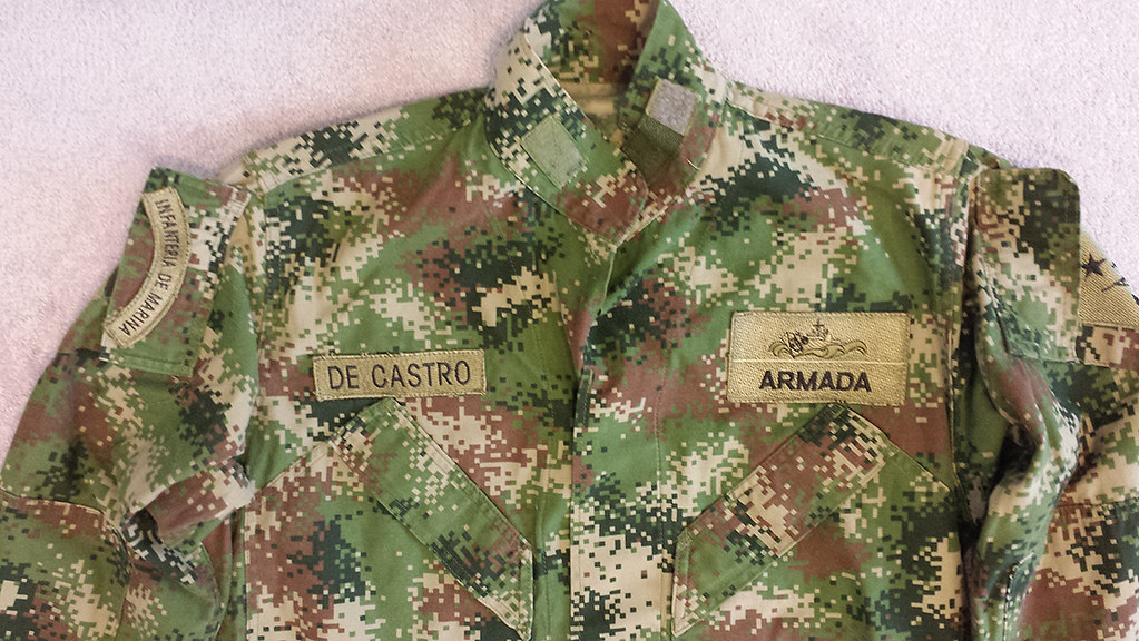 Colombian Digital Camo M65 Field Jacket with Liner 14294807638_e9f28a518b_b
