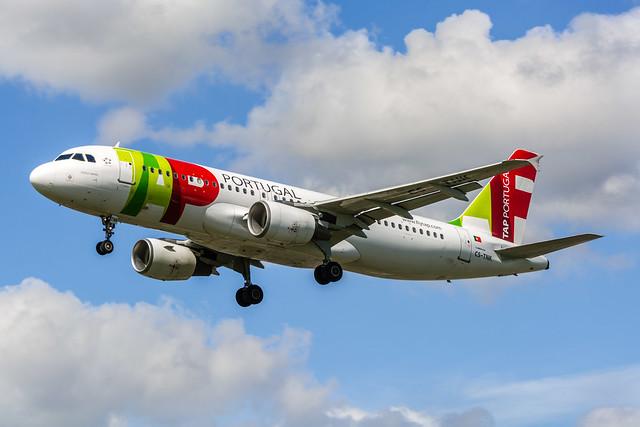 """TAP A320-214 TS-TNK """"Teofilo Braga"""""""