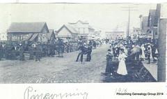 Kaiser St, Pinconning 1916