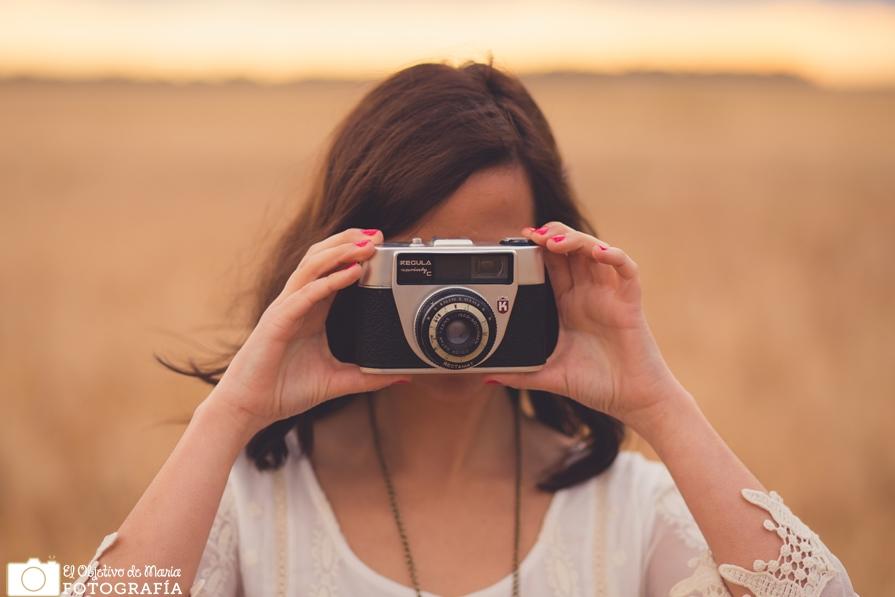 Welcome Junio, cámara vintage