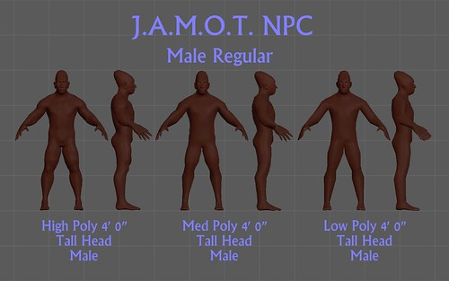 J.A.M.O.T. NPC Male Regular