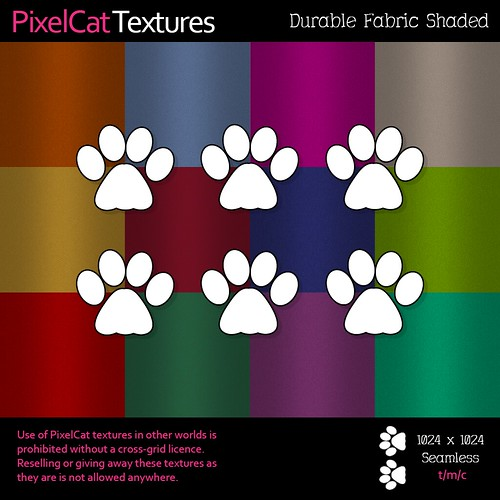 PixelCat Textures - Durable Fabric Shaded