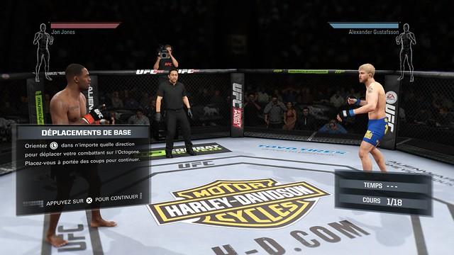 EA Sports UFC demo 1