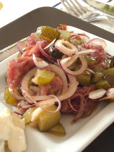 Carpaccio in insalata - Carpaccio salad