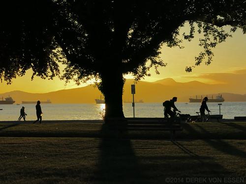 Kits Beach Sunset #6896