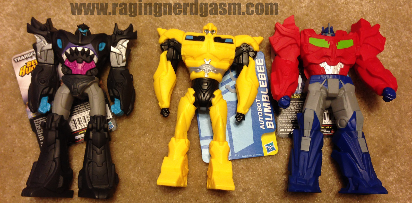 Transformers American Sifubi figures Megatron Bumblebee Optimus Prime - beast hunters