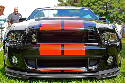 Ford Mustang GT500 front