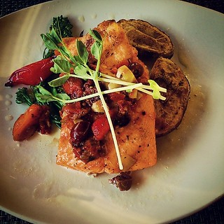 I never use instagram for its intended purpose - food pictures. #steelheadsalmon