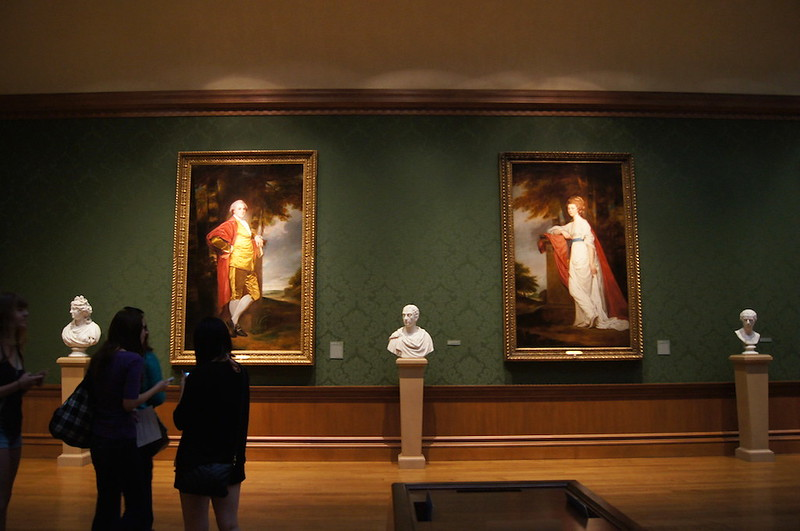 The European gallery.