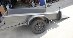 Tilting Trailer for Mobility Scooter