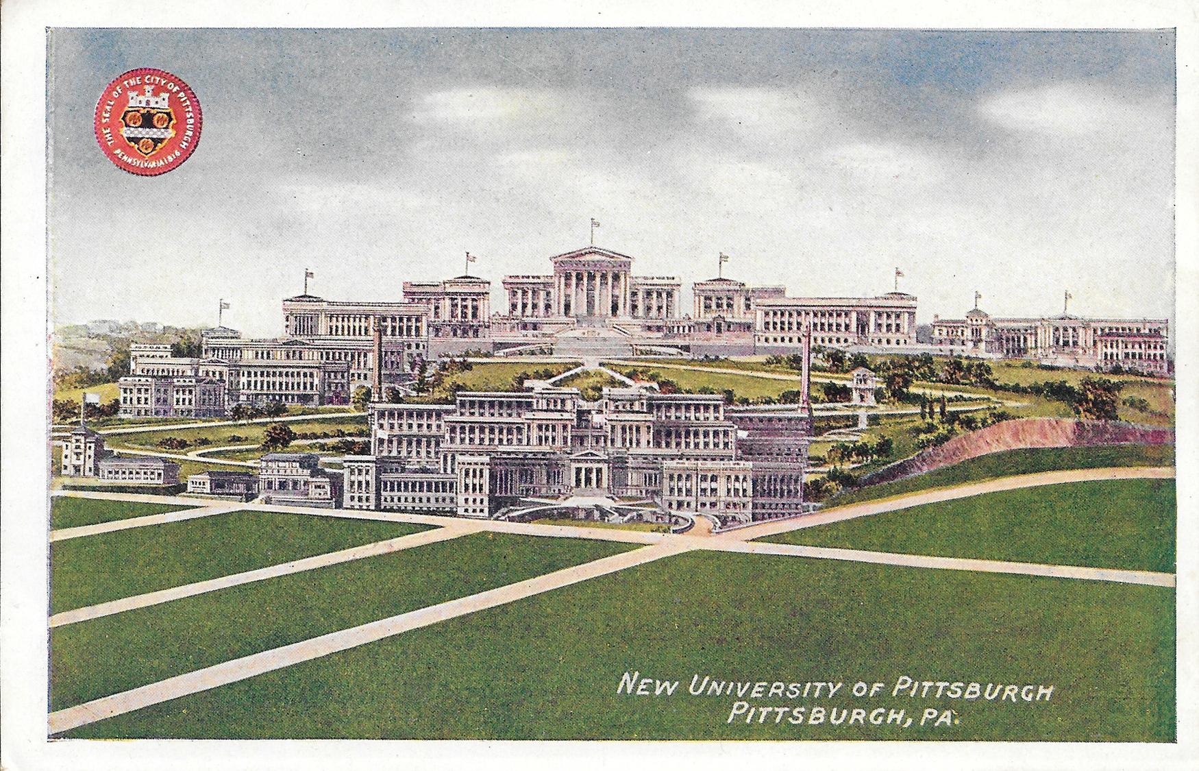 Postcard10-NewUniversityofPittsburgh