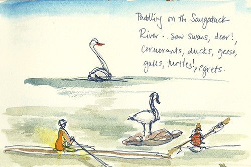 Saugatuck River sketches, Westport, CT