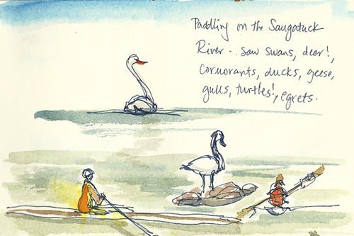 Saugatuck River sketches, Westport, CT