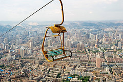 Birdview of Lanzhou