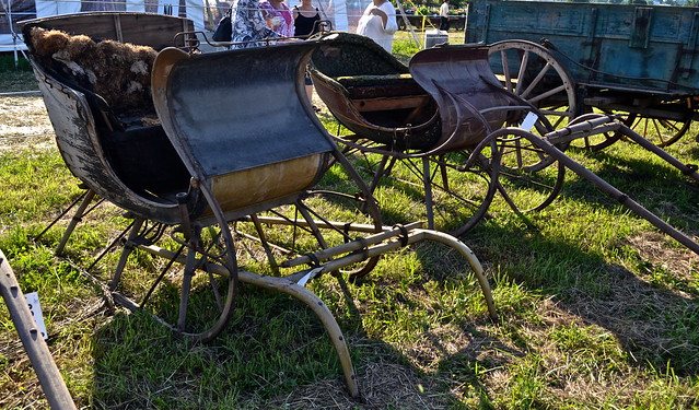 sleighs for sale - Amish Auction Lancaster County PA