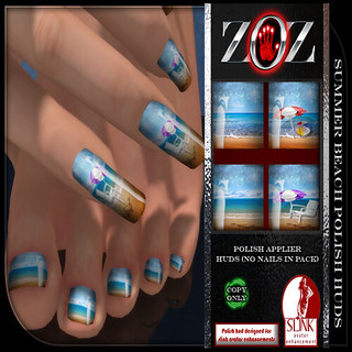 -{ZOZ}- Summer Beach Polish pix