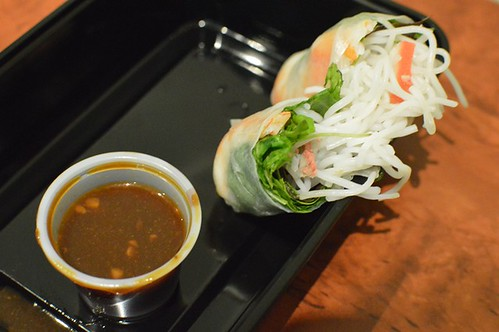 Little Vietnamese Food: Pork & prawns rice paper rolls