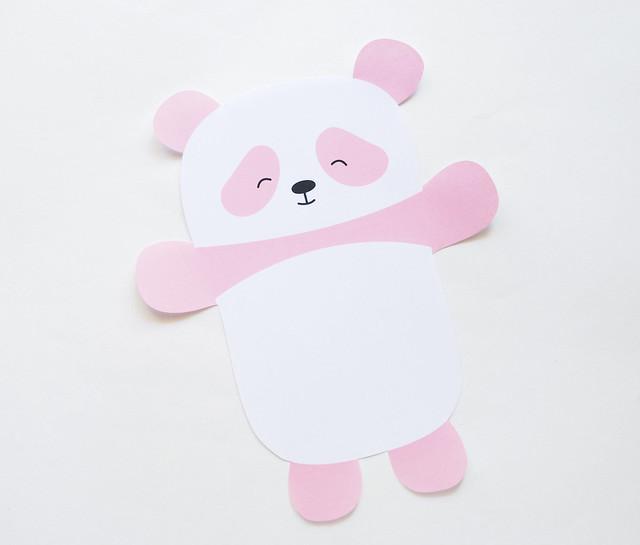 Panda Printable Paper