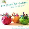 New on the blog- Shrink dink fish pins and sea urchin #pincushions. #DIY #felt #shrinkydink #ocean #fish #octopus #seahorse #blog #tutorial #seaurchin #sewing #craft