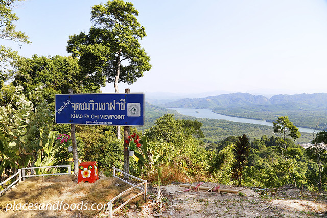khao fa chi view point sign