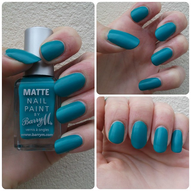 NOTD Barry M Cancun Matte