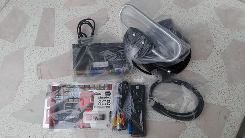อุปกรณ์ที่มีมากับกล่อง Winner Digital TV Set Top Box